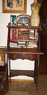 Antique-Desk-Open